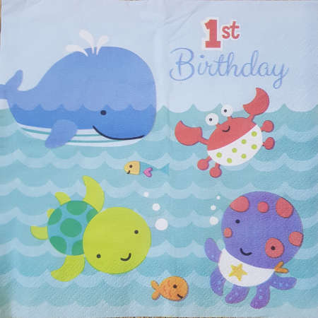 1st Birthday - Baby Shark
